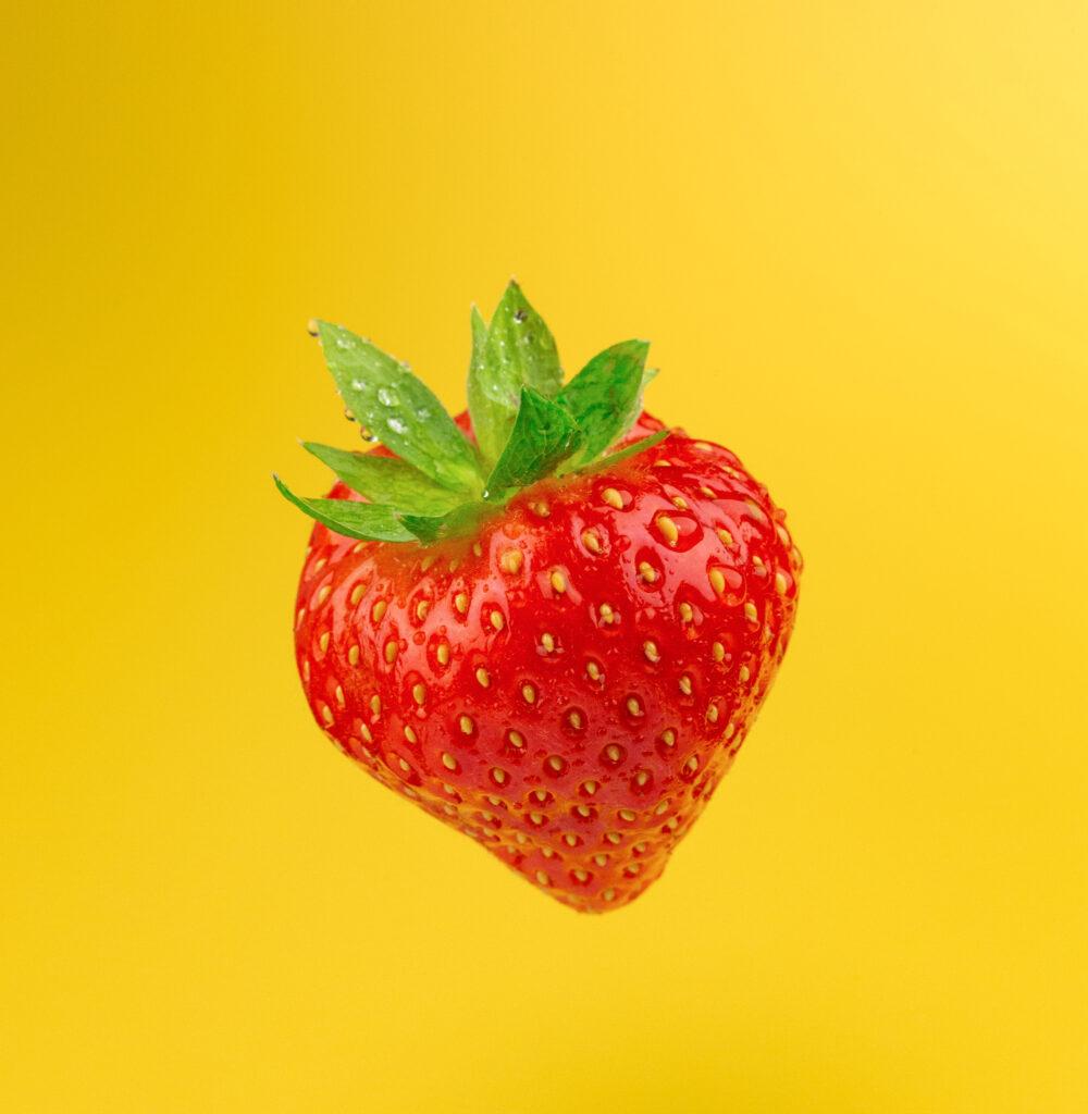 Saisonale Sorbets (Erdbeere)